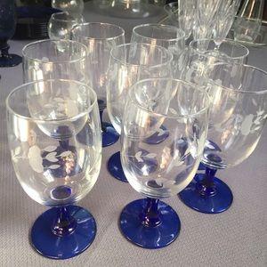 8 piece Princess House Glass Collection